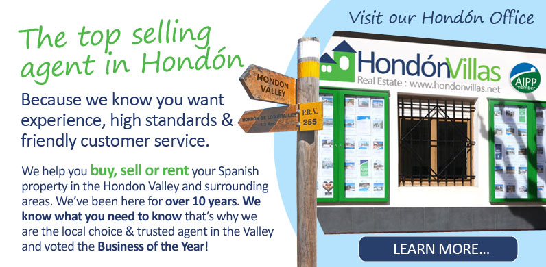 Local Real Estate Agents in the Hondon Valley